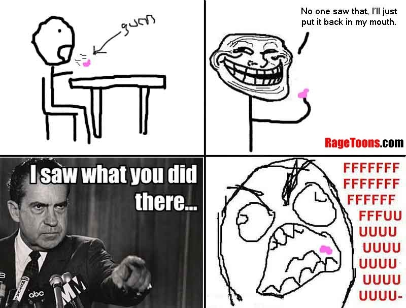 I Know You Did It Gum Rage
