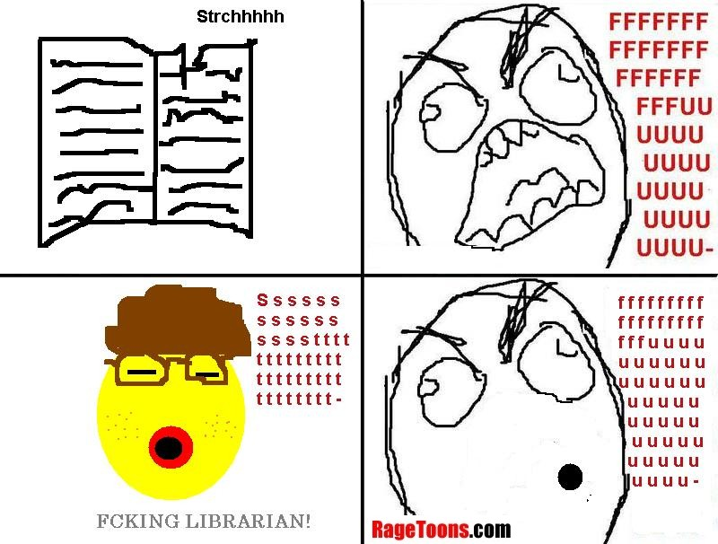 Library Silent Rage