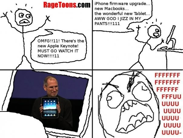 Apple iPad Rage