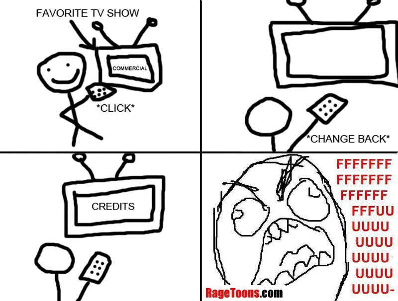 Channel Surfing Rage