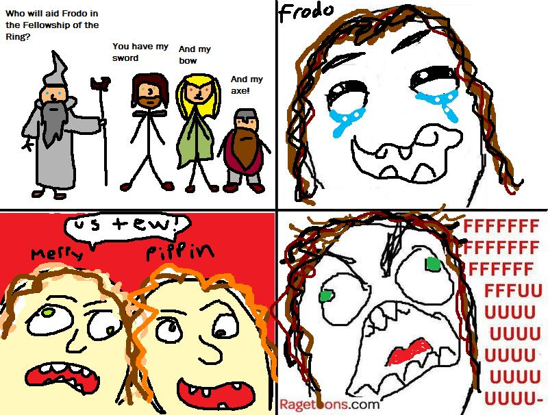 Fellowship Of The Ring Rage