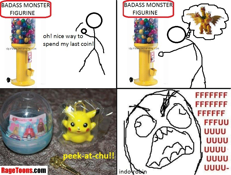 Pokemon Badass Monster Rage