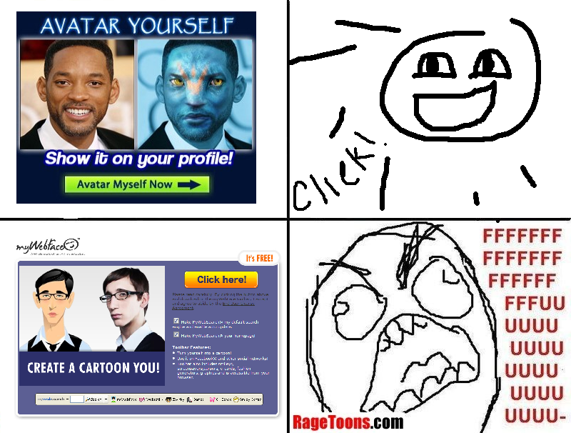 Avatar Yourself Rage