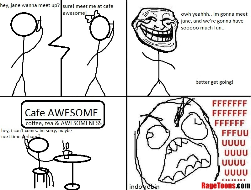 Cafe Date Rage