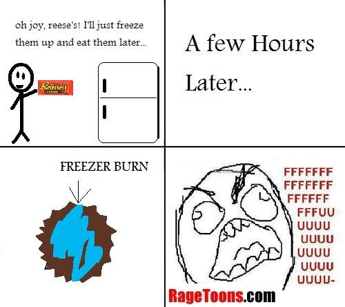 Freezer Burn Rage