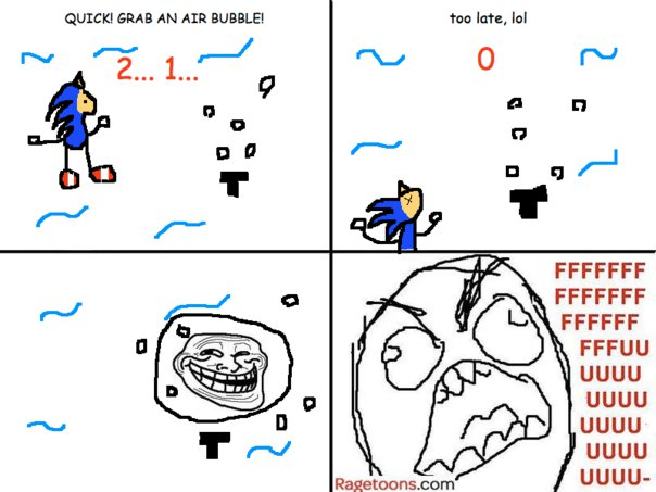 Sonic Air Bubble Rage