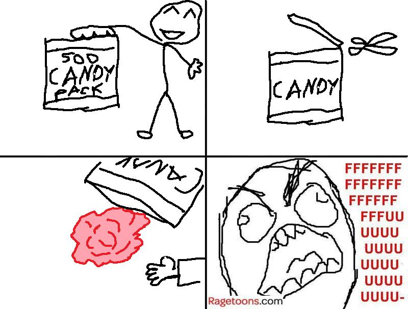 All Into One Candy Rage