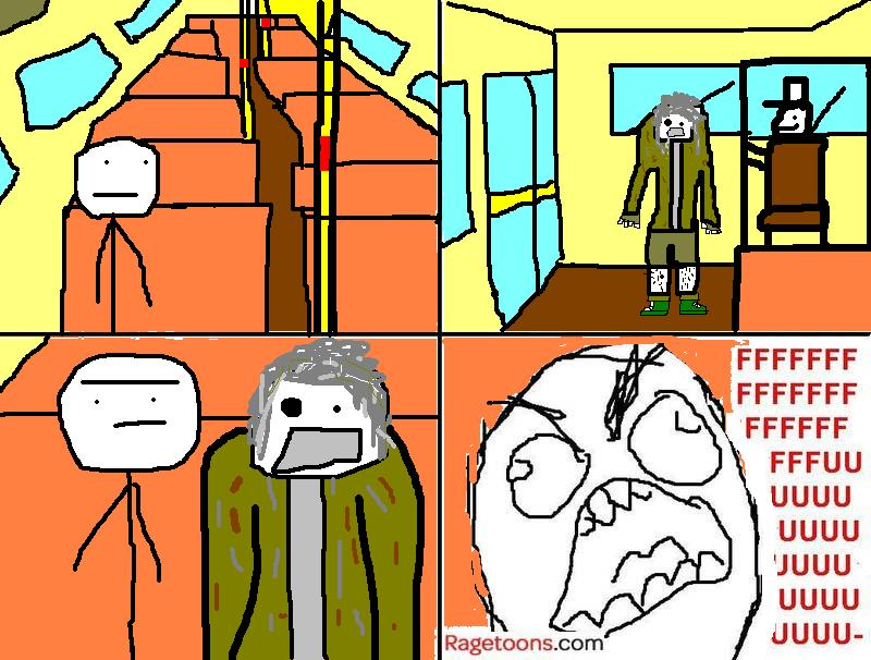 Empty Bus Rage