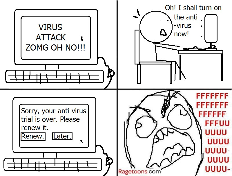Anti-Virus Expired Rage