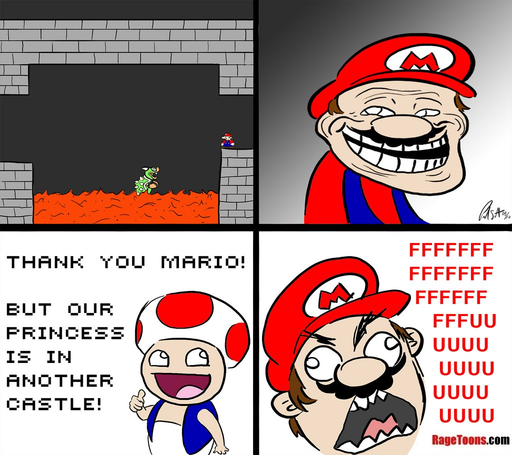 Mario Princess Another Castle Rage