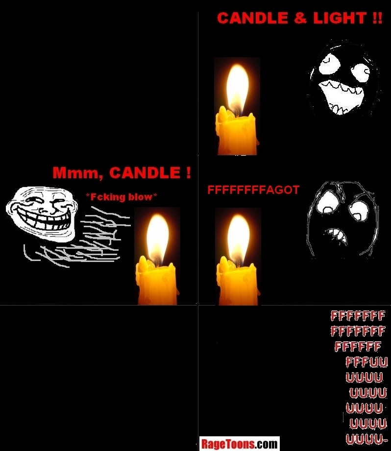 Candlelight Darkness Rage