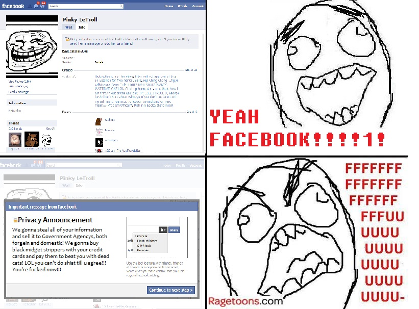 Facebook Privacy Rage