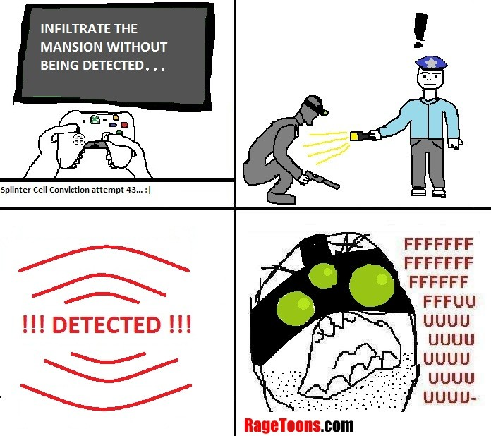 Splinter Cell Infiltration Rage