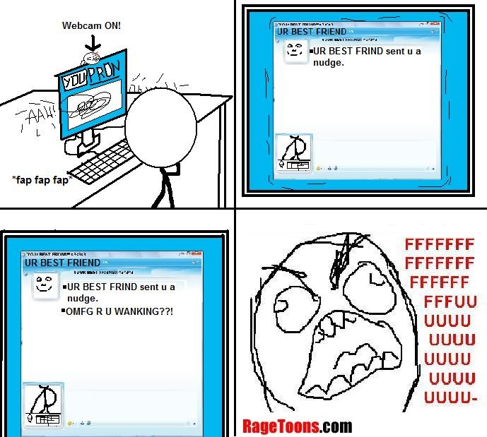 Msn Webcam Wanking Rage