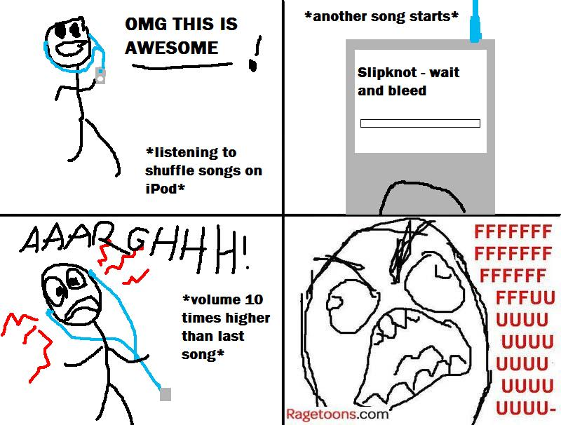 High Volume Song Rage