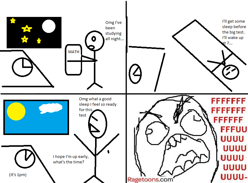 Exam Sleep Rage