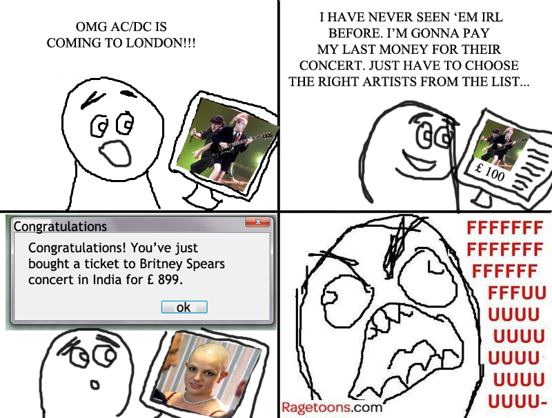 ACDC Wrong Ticket Rage
