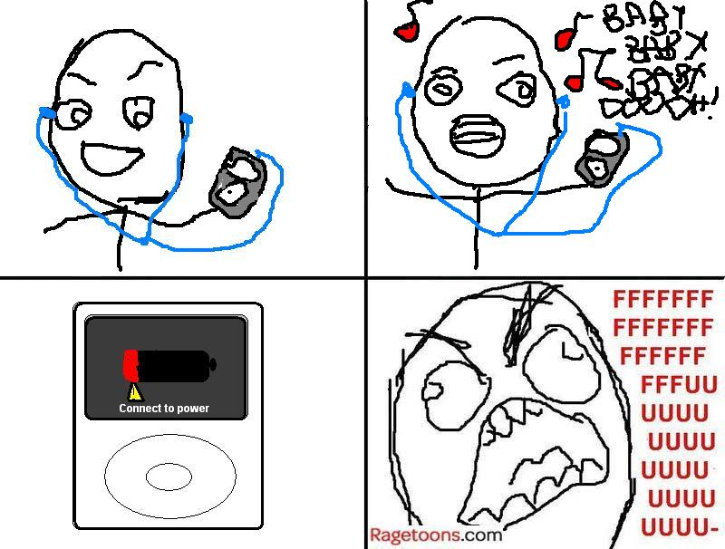 iPod No Power Rage