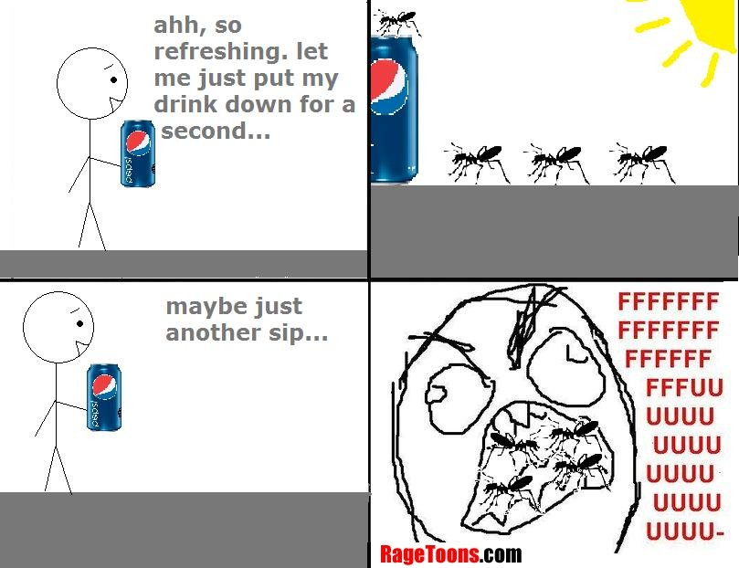 Refreshing With Ants Rage