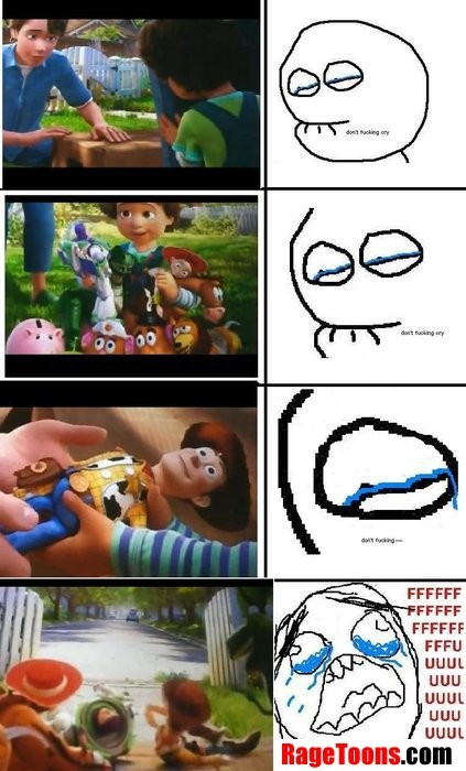 Toy Story 3 Crying Rage