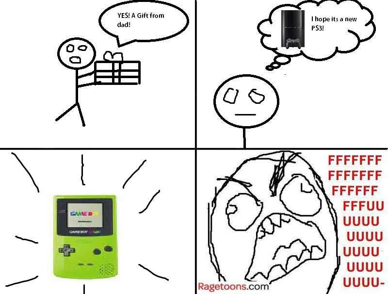 Gameboy Colour Present Rage