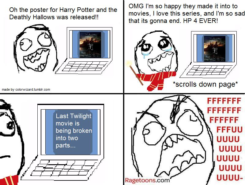Harry Potter Deathly Hallows Rage