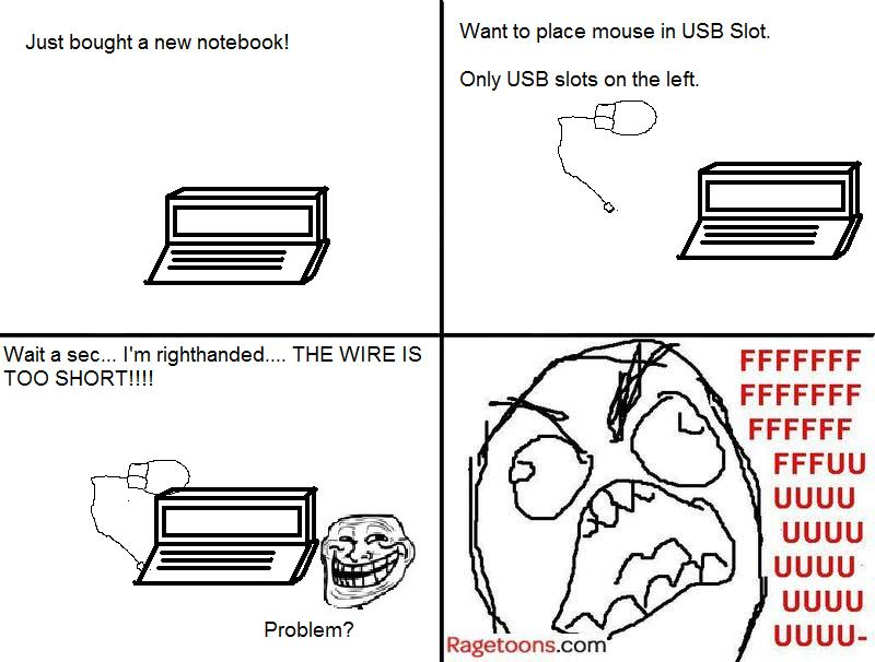 Lefty Laptop Rage