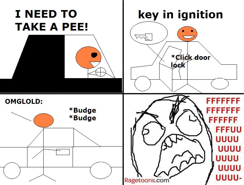 Car Locked Rage