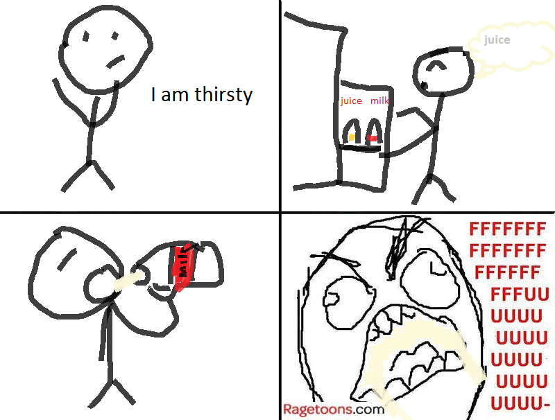 Wrong Juice Rage
