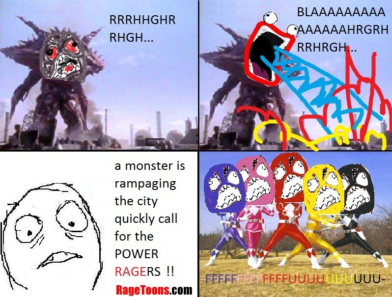 Power Ragers Rage