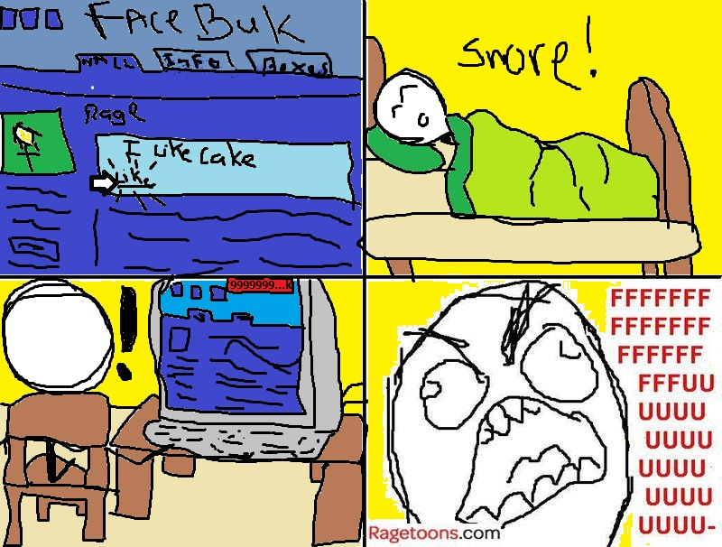 Facebook Like Noise Rage