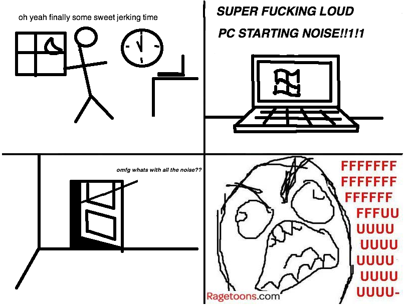 Late Night Loud PC Rage