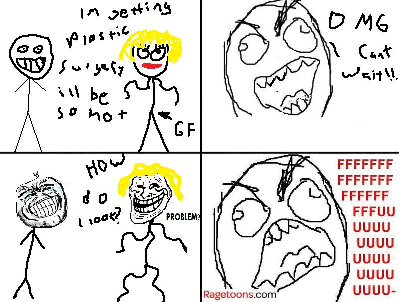 Plastic Surgery Girlfriend Rage