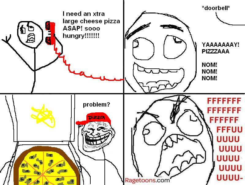 Anchovies Pizza Rage