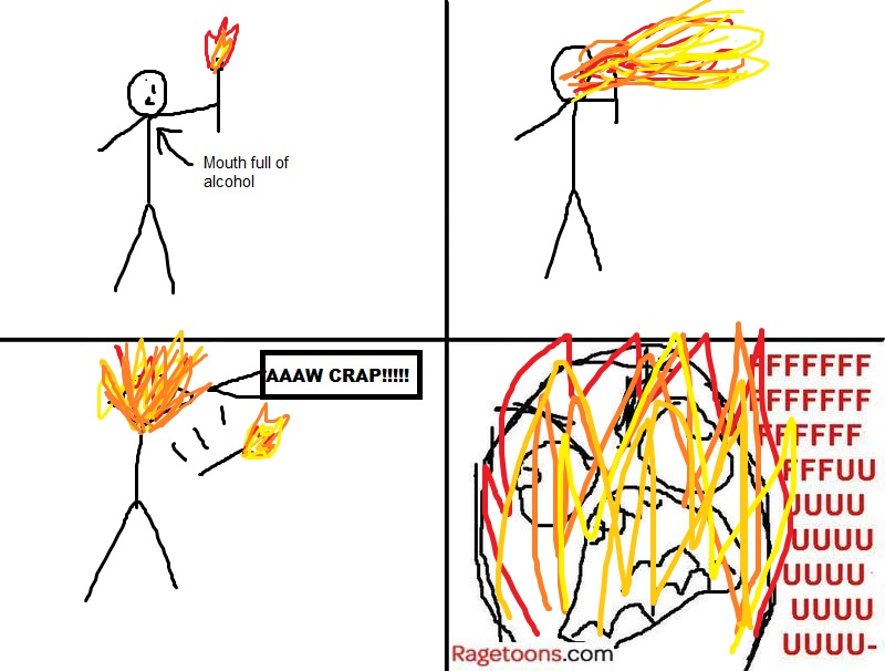 Spitting Fire Rage