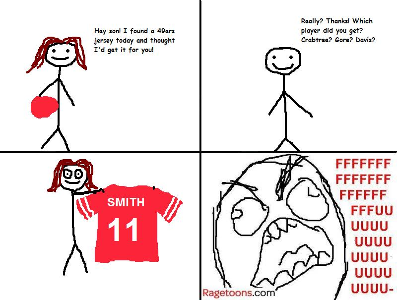49ers Jersey Rage