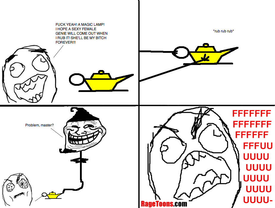 Magic Lamp Genie Rage
