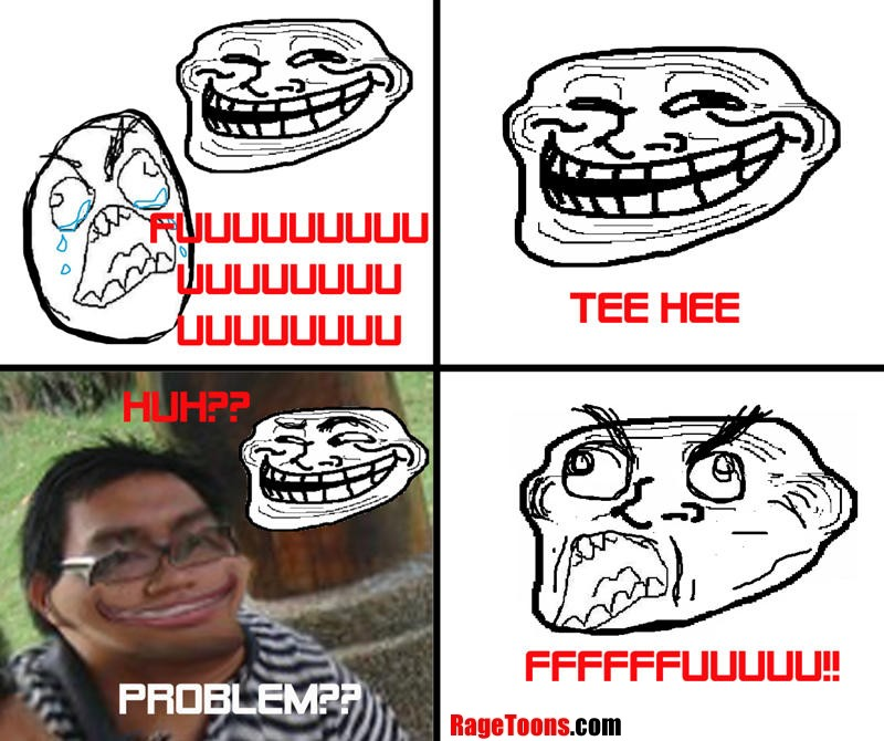Being Troll Faced Rage