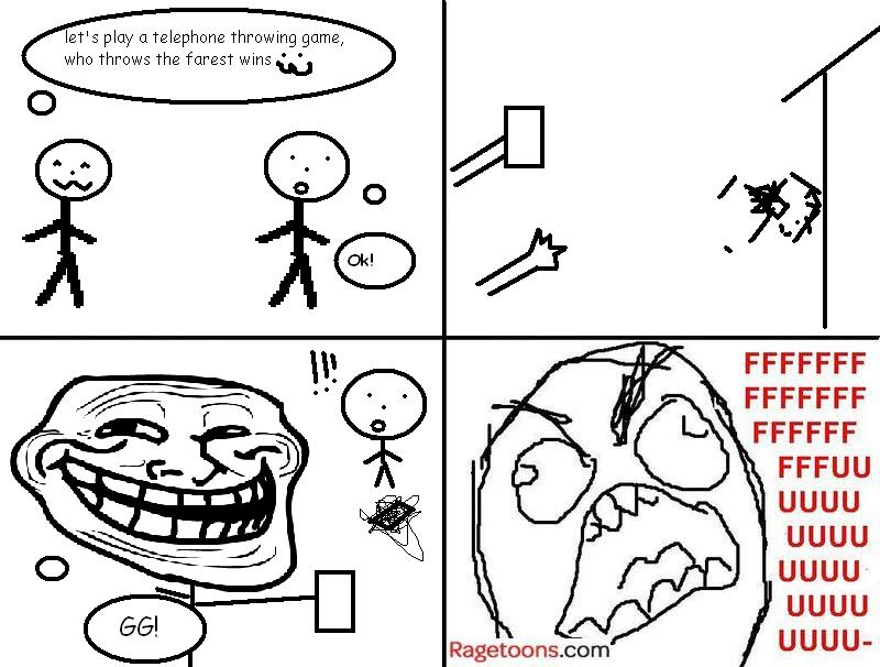 Phone Throw Rage