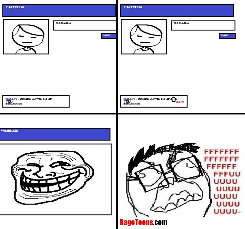 tagged pictures for facebook. Facebook Troll Tag Rage