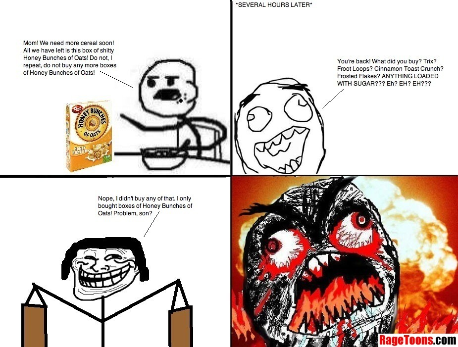 More Sucky Cereal Rage