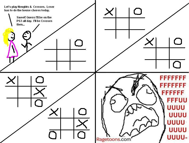 Noughts And Crosses Rage