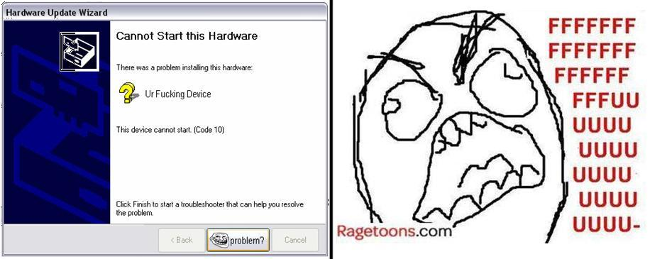 Device Error Rage