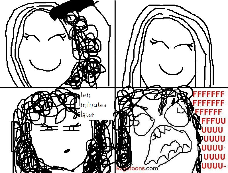 Hair Straightening Rage