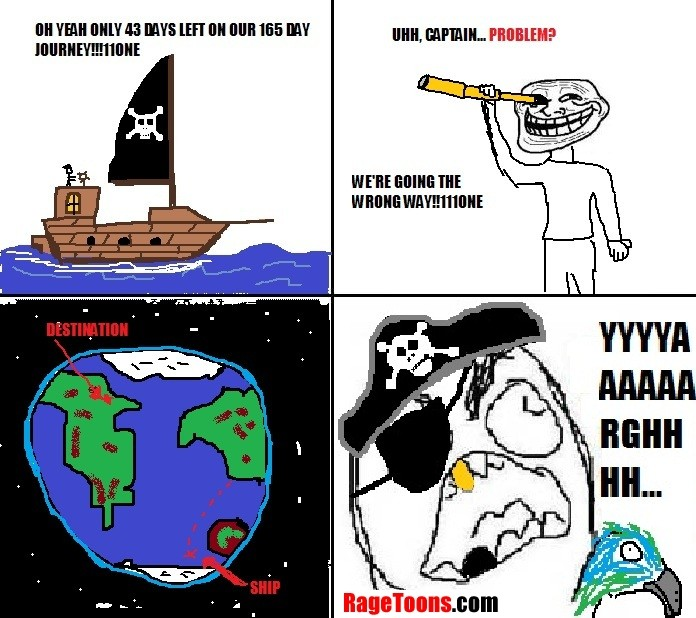 Pirate Wrong Way Rage