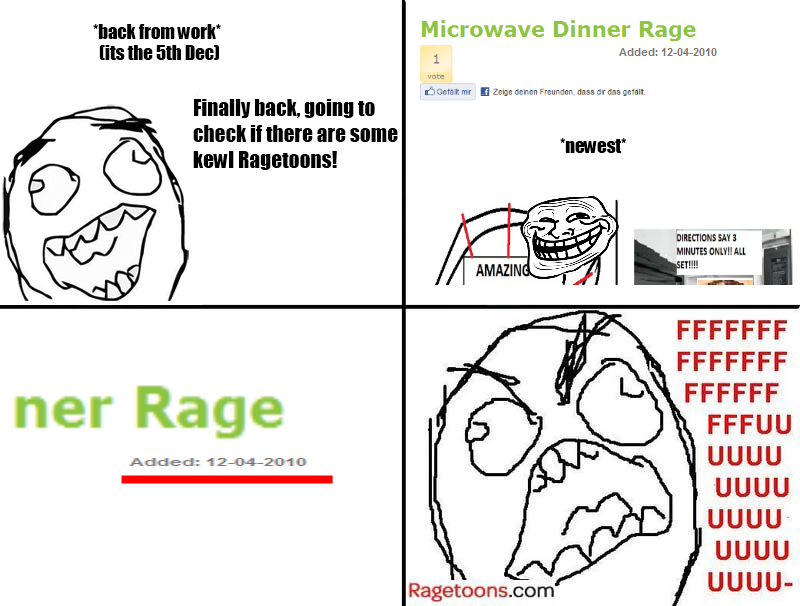 No New Ragetoons Rage