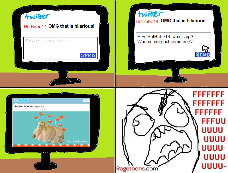 Twitter Over Capacity Rage