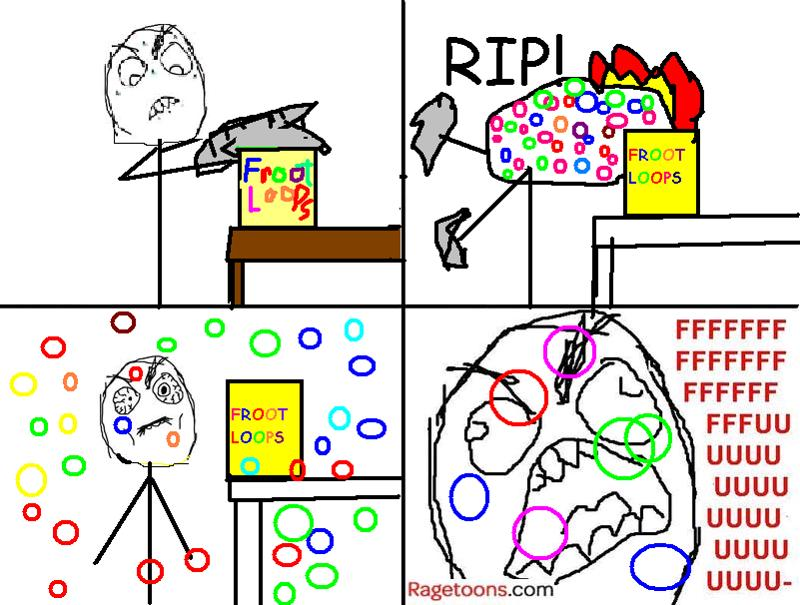 Froot Loops Cereal Rage