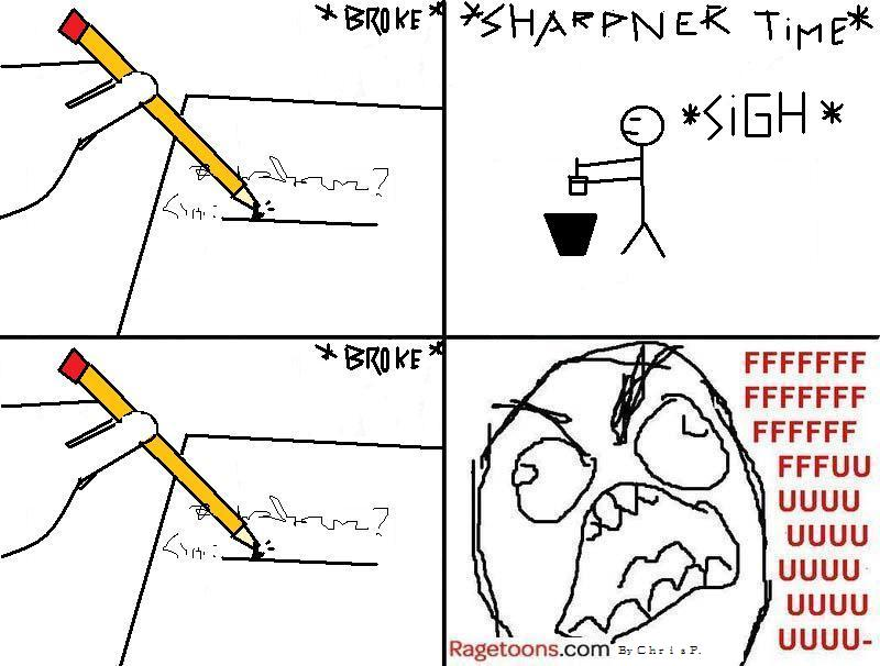 Broken Pencil Rage