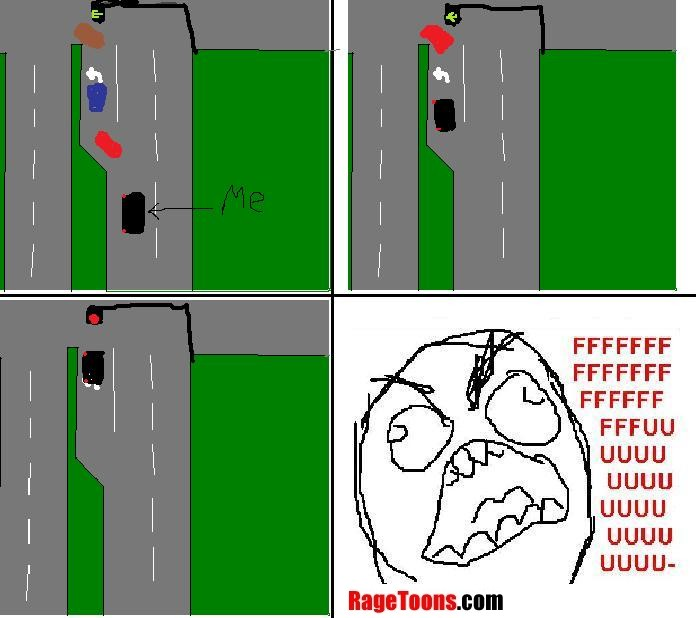 Everyone Left Turn Rage
